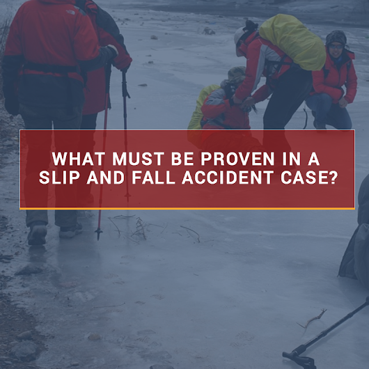 When Slip And Fall Accidents Happen In A Store Or Business - JusticeNewsFlash.com