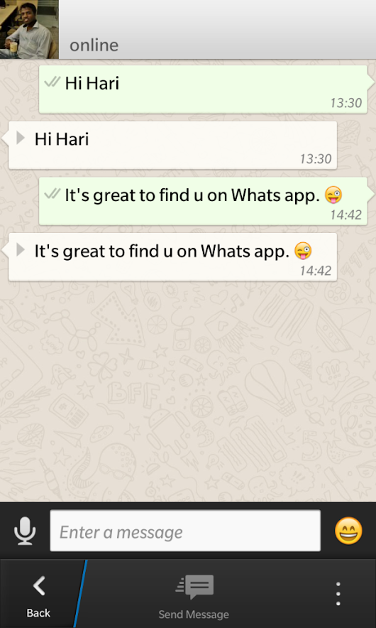Chat with yourself – WhatsApp Bug or Feature | Hari Maurya