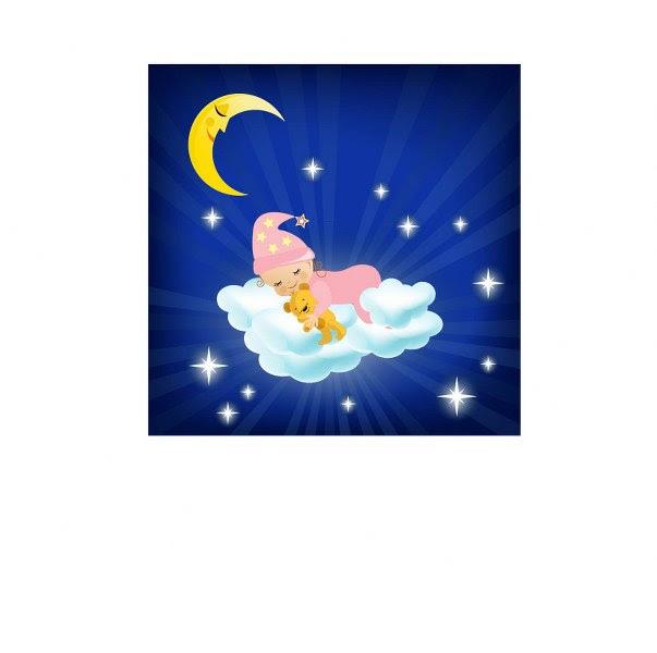 Bulutlar üstünde Uyuyan Bebek Noa Gergi Tavan Izmir Germe Tavan Ve
