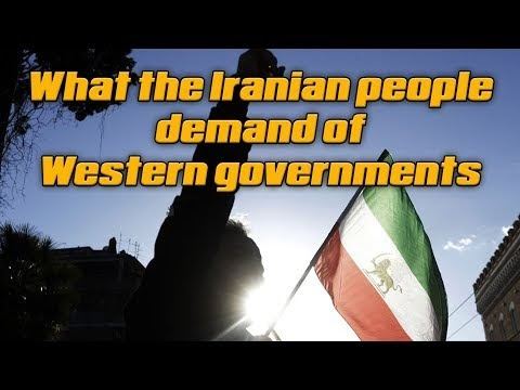 What the Iranian people demand of western governments.