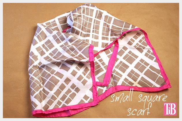 Scarf Chain Wrap Bracelet DIY Square Scarf