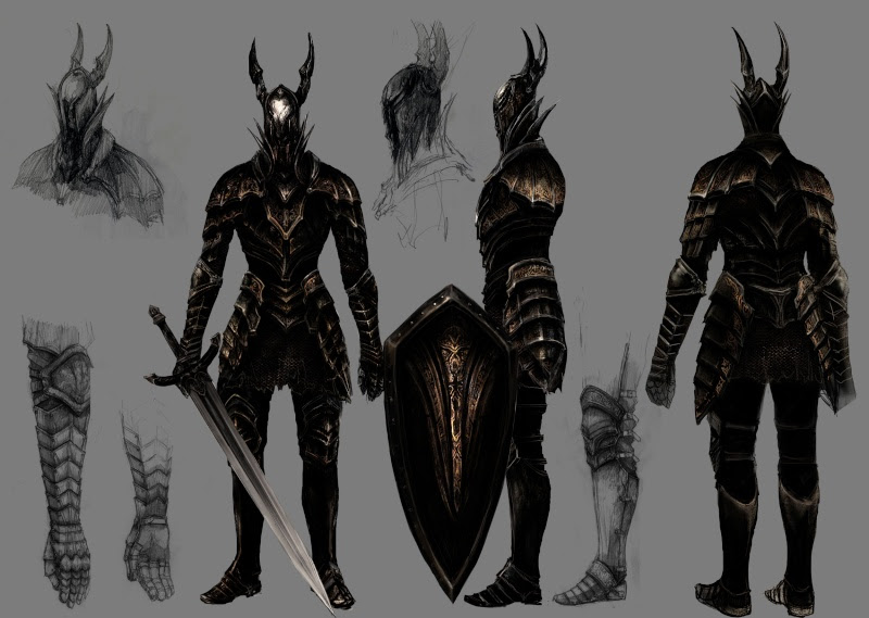 Dark Souls chevalier noir