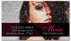 BCS-1032 - salon business card