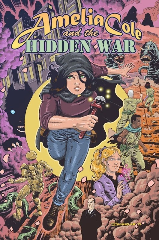 Review: 'Amelia Cole and the Hidden War'