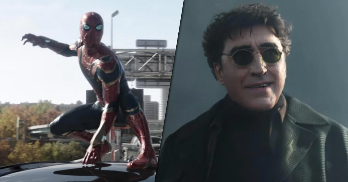 Tom Holland Teases Working With Doc Ock Actor Alfred Molina in Spider-Man No Way Home
