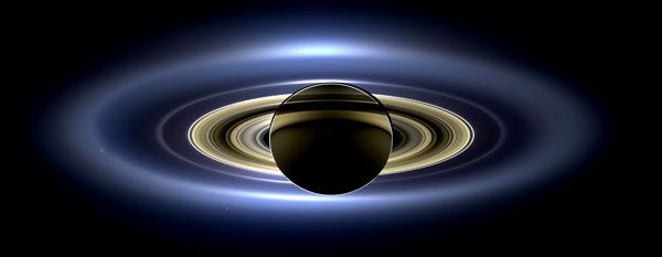 A natural-color image of Saturn that was taken by NASA's Cassini spacecraft on July 19, 2013.