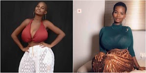 21 Years Old Ghanaian Model, Pamela Watara Reported To Posses The Biggest B0obs (See Photos)