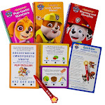 Pi Kids PAW Patrol Deluxe Quiz It Pen with 4 Books and Bonus Stickers