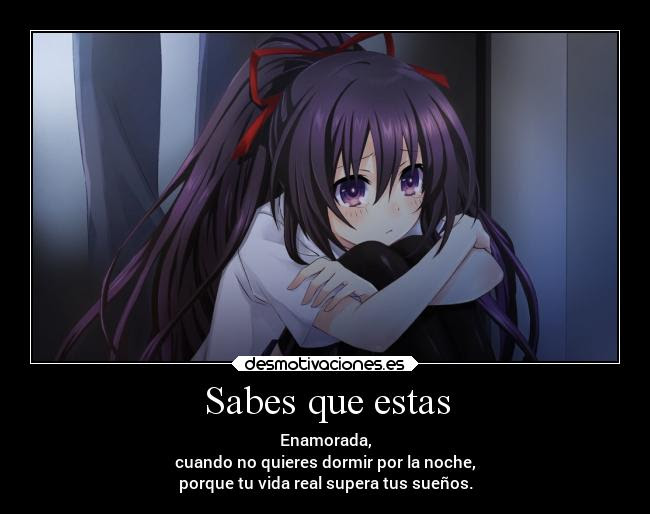 Frasesamor Sad Amor Sentimientos Frases De Anime