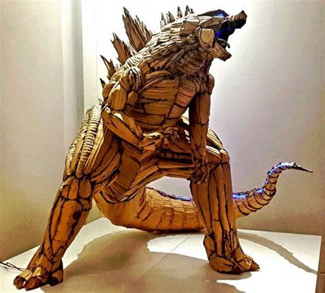 Taiwanese Artist Creates the Most Amazing Cardboard Sculptures