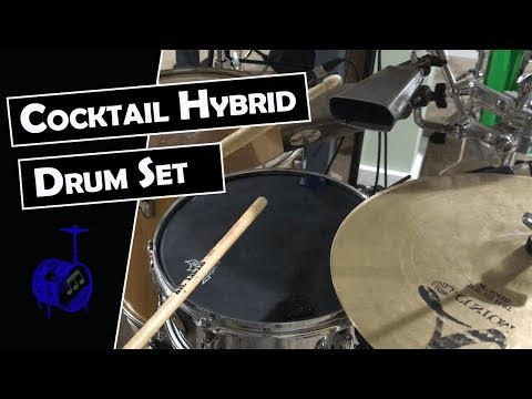 Cocktail Hybrid Drum Set [Cissy Strut]