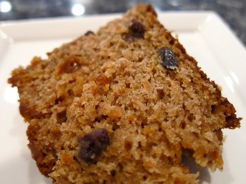 Old-Fashioned Carrot Cake (Bread)