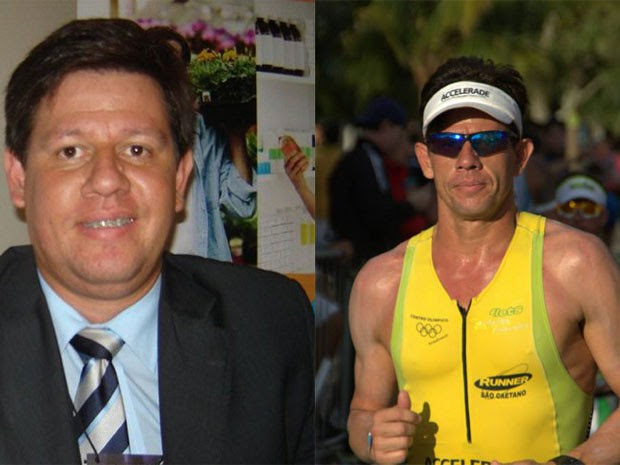 Wallace emagreceu 35 kg após superar depressão, em Santos (Foto: Arquivo pessoal)
