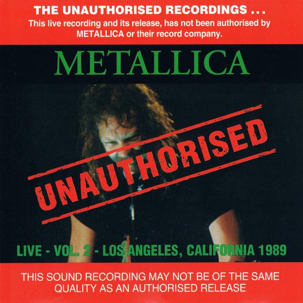 Metallica - Live Vol.2 - 1993