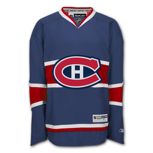 Montreal Canadiens To Addopt A Third/Alternate Jersey in 2013/14?