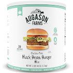 Augason Farms Black Bean Burgers Mix #10 Can | 38-Servings