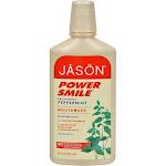 Jason PowerSmile Mouthwash, Brightening Peppermint - 16 fl oz