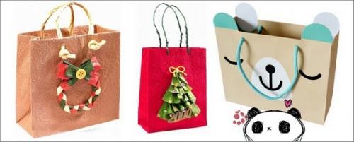 Agenda di margherita pacchetti confezioni regalo fai da for Sacchetti di carta fai da te