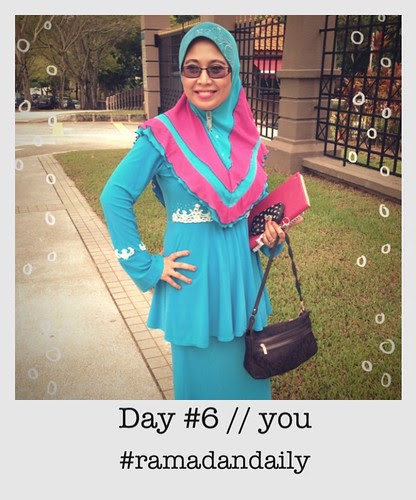 Day #6 : You