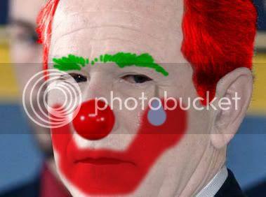 Bush: I bet he weeps