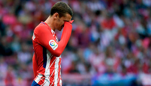 Atletico Madrid news: Watch Antoine Griezmann being given unconditional support by Diego Simeone after Atletico Madrid whistles - Article - Sport360