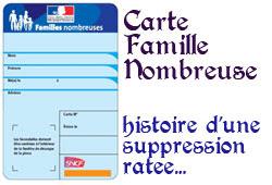 carte famille nombreuse sncf renouvellement Louer une maison avec une terrasse: Carte famille sncf