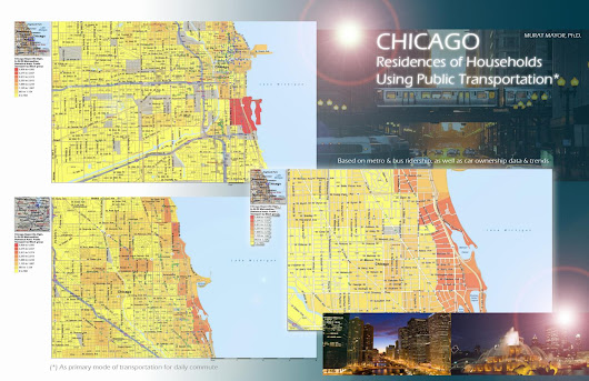 CHICAGO RESIDENCES OF HOUSEHOLDS USING PUBLIC TRANSPORTATION, MURAT MAYOR, PhD