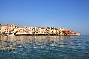 Chania on the island of Crete - Western part o...