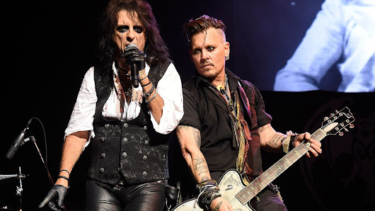 Hollywood Vampires share behind the scenes tour wrap-up video