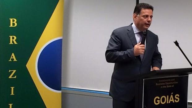 Marconi fará palestra nos EUA sobre superação da crise brasileira