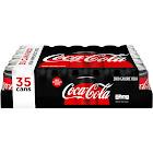 Coca-Cola Zero Soda - 35 pack, 12 fl oz cans