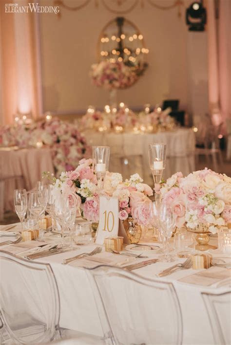 Stunning Blush Pink Wedding at the Ritz   ElegantWedding.ca