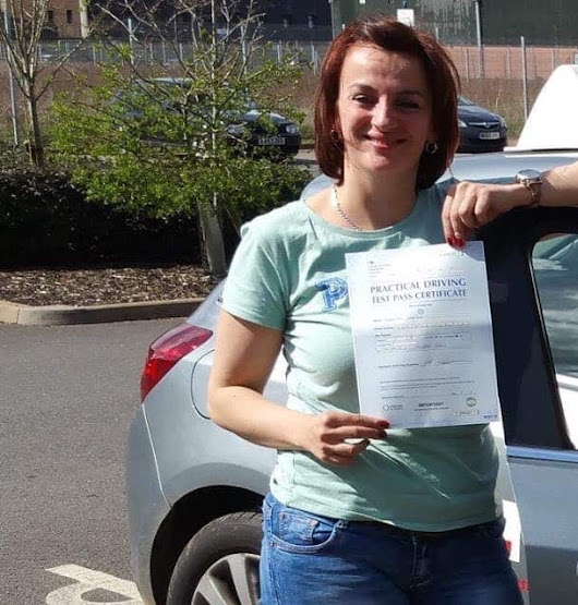 driving lessons saltcoats student tracy paterson