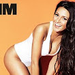 'I'm not your typical sexy girl': Michelle Keegan parades envy-inducing curves as she strips down to plunging white swimsuit