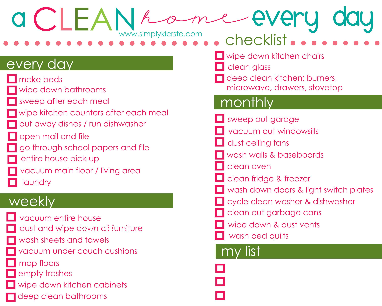 a clean home} - Simply Kierste Design Co.