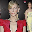 Cate Blanchett wows in a plunging red sequin gown as she joins Gemma Arterton and Nicole Kidman on the red carpet at the AACTA Awards
