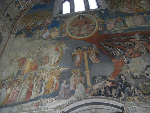 DSCN0708 _ Giotto Frescoes in Scrovegni Chapel, Padova, 12 October