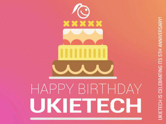 Ukietech Is Celebrating Its 5th Anniversary! Get Your Discount Now :-) — UKIETECH