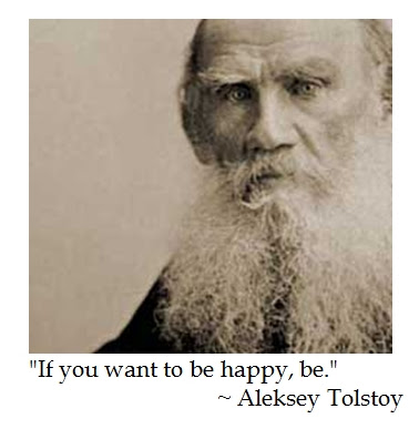 Tolstoy Happiness