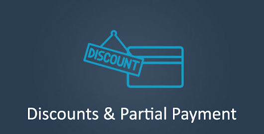 Discounts and Partial Payment | Sliced Invoices