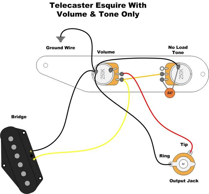 Strat Wiring Diagram 3-Way Switch