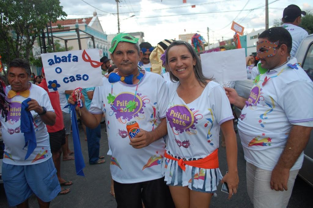 O Psifolia fez a alegria dos foliões nas ruas da cidade - Foto: Paulo Júnior