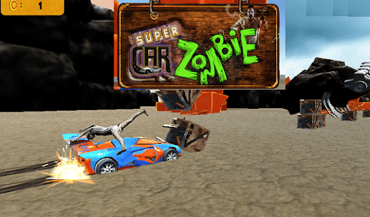 Play Super Car Zombie Online