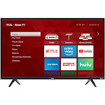 "TCL 3 Series 49S325 - 49"" LED Roku Smart TV - 1080p - Black"