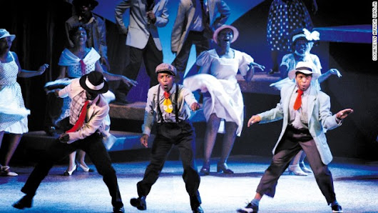 Street children turn stage stars to tell South Africa's story