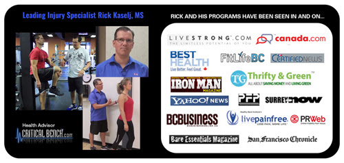 Rick Kaselj, M.S. (Exercise Science), B.Sc. (Kinesiology), PK, CPT, CEP, CES