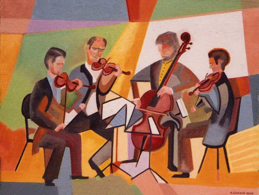 Jewish music for string quintet