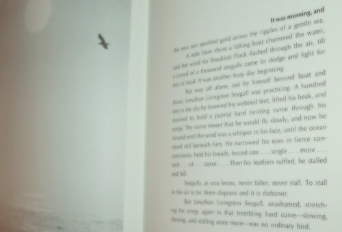 Page One: Jonathan Livingston Seagull