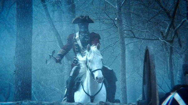 This British Redcoat isn't what he appears to be in SLEEPY HOLLOW.