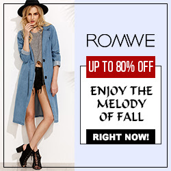 Romwe Fall Coats